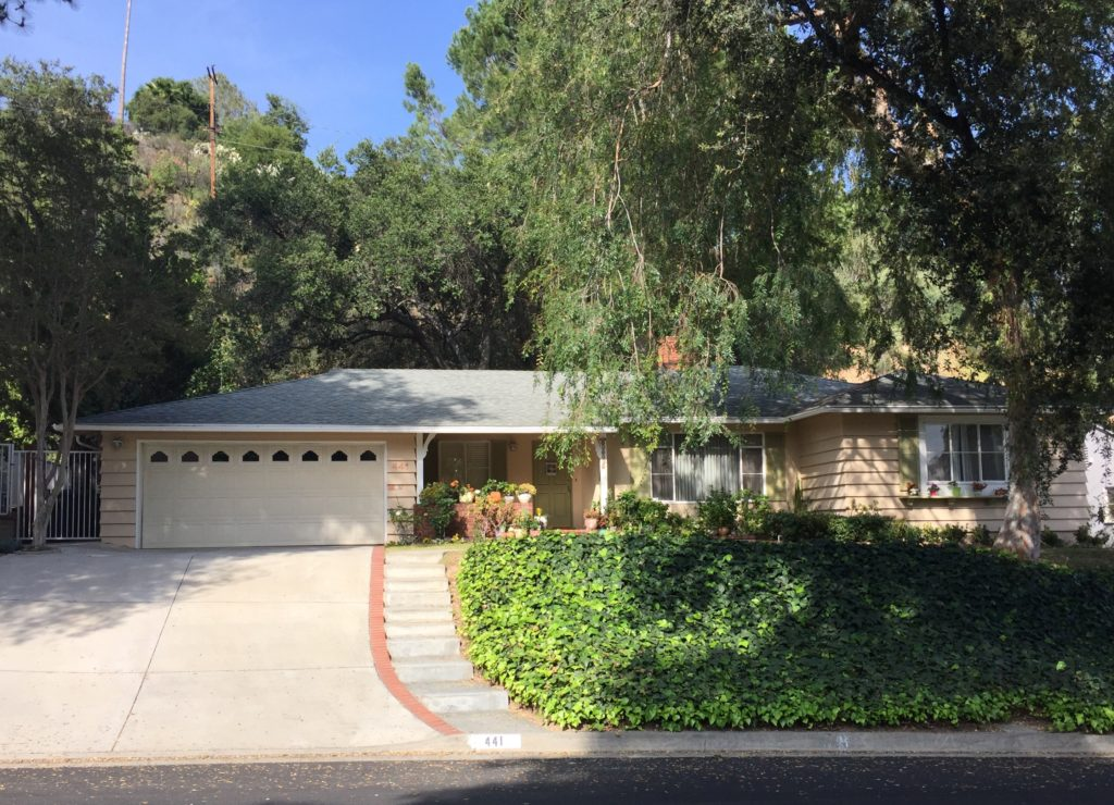 Sold!  441 Paulette Place, La Canada Flintridge