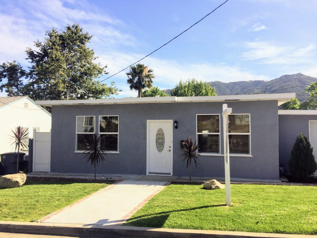 Just Sold!  A single family home in La Crescenta